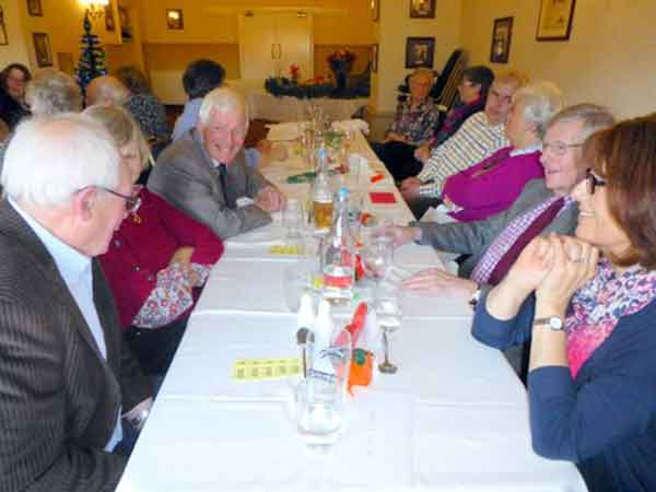 Dorset & S Wilts BDS Christmas lunch 2016